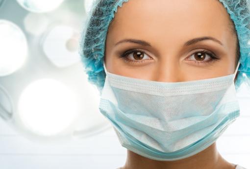 Luvas, toucas, batas e desinfetantes para hospitais