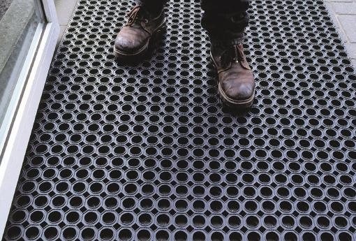 Tipos de tapetes para uso industrial
