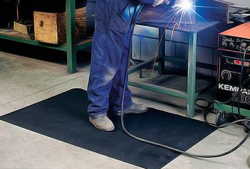 Tipos de tapetes para indústria