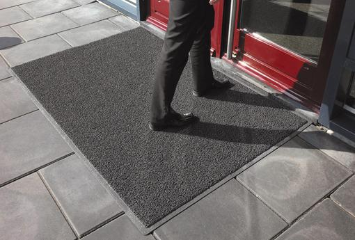 Tipos de tapetes com espaços públicos