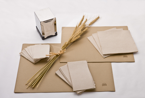 Tipos de papéis (cozinha, casas de banho e escritório) disponíveis
